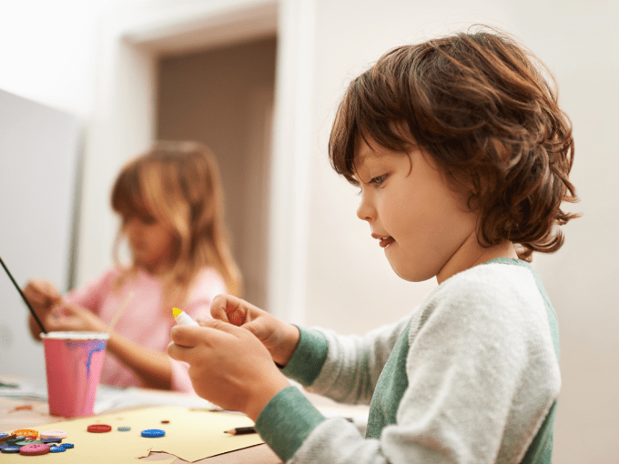 Creative Development in 3-5-Year-Olds